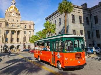 Savannah Altstadt: Hop-On/Hop-Off-Trolleytour