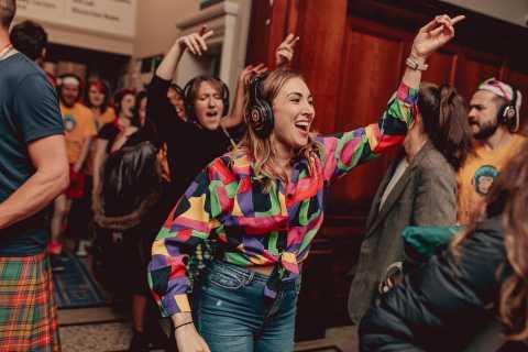 Glasgow: Silent Disco Adventure Tour