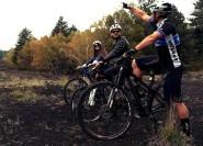 Ab Taormina: Halbtägige Mountainbiketour auf dem Ätna
