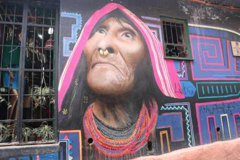 Bogotá: Graffiti Tour in La Candelaria