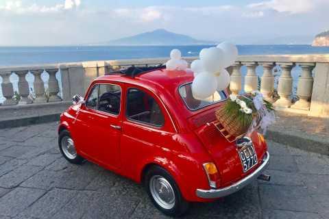 Sorrento Coast Couples Photo Tour by Vintage Fiat 500