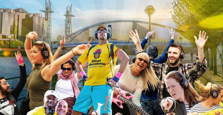 Manchester: Silent Disco Adventure Tour