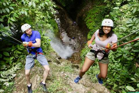 La Fortuna: Canyoning and White Water Rafting Experience