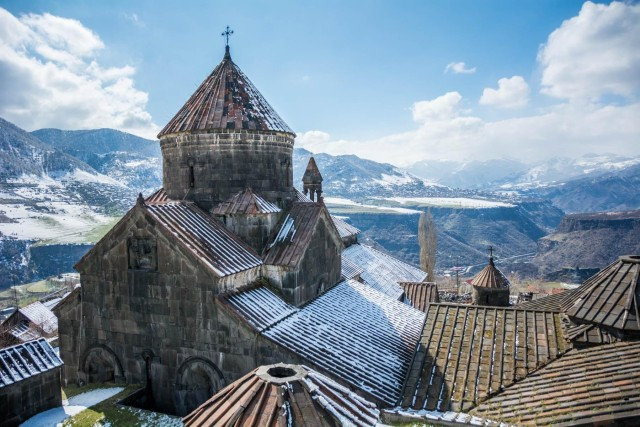 Van Tbilisi: kleine groepsreis van 1 dag naar Armenië met lunch