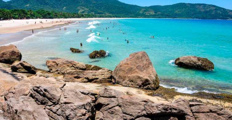From Abraão, Ilha Grande: Full-Day Tour Around the Island