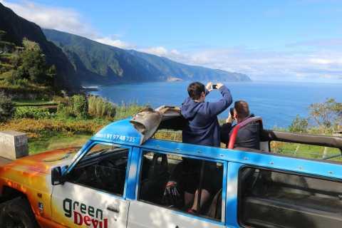 Oeste da Madeira: Excursão 4x4 de dia inteiro