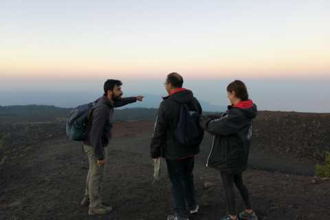 Da Taormina: escursione serale di mezza giornata sull'Etna