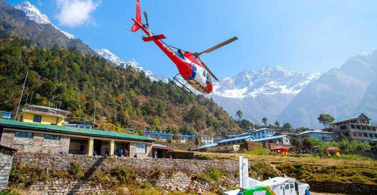 From Kathmandu: Everest Base Camp Helicopter Tour