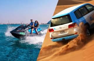 Dubai: Wüsten-Safari mit Kamelritt & Jetski-Fahrt