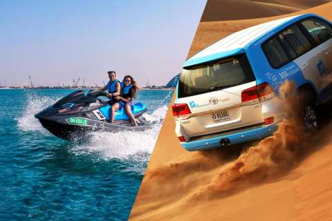 Dubai: Desert Safari with Camel Ride and Jet Ski Ride