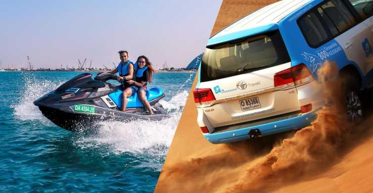 Dubai: Desert Safari with Camel Ride and Jet Ski Ride