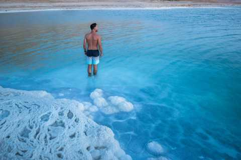 From Amman: Dead Sea and Madaba Tour with Hotel Pickup