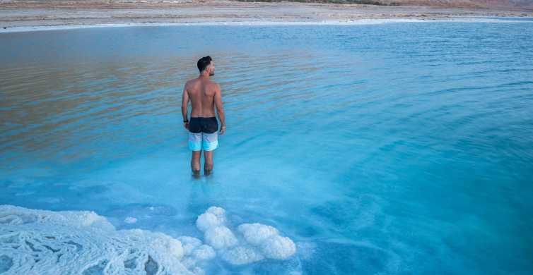 Da Amman: tour del Mar Morto e Madaba con prelievo in hotel