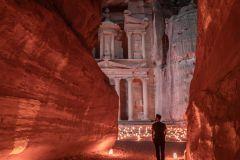 De Amã: Excursão de 3 Dias Petra, Rum, Aqaba e Mar Morto