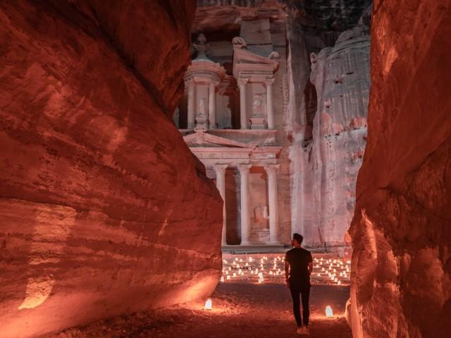 Vanuit Amman: 3-daagse uitstap Petra, Rum, Akaba en Dode Zee