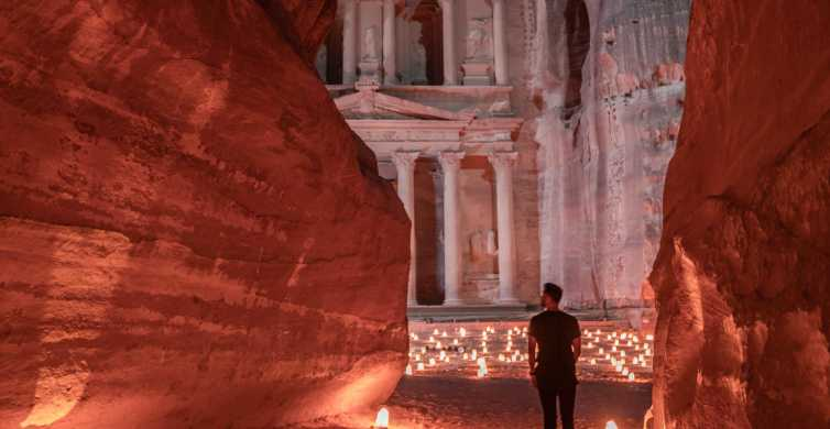 From Amman: Petra, Rum, Aqaba and Dead Sea 3-Day Tour