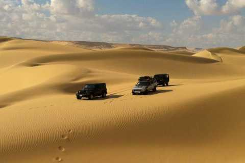 Fayum: 2-day Western Desert Jeep Camping Adventure