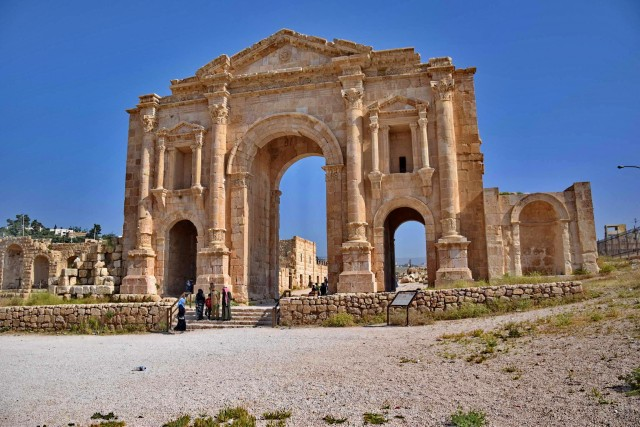 Jerash en Umm Qais Private Tour van Amman