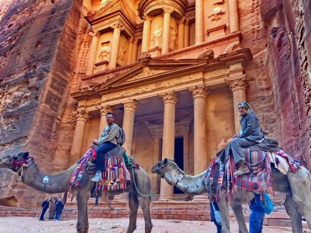 Vanuit Amman: privé-dagtour naar Petra met ophaalservice