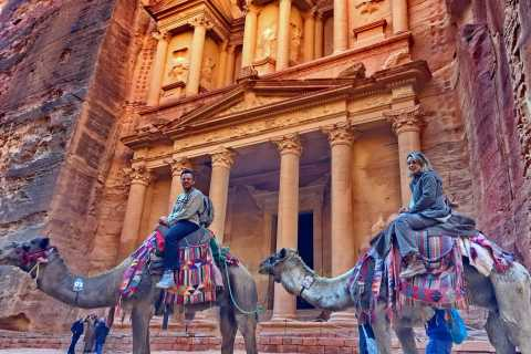 From Amman: Private Day Trip to Petra with Pickup