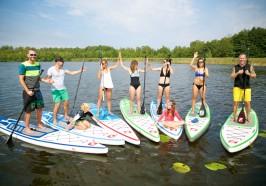 Cosa vedere ad Lipsia - Lipsia: Stand-Up Paddleboard Class