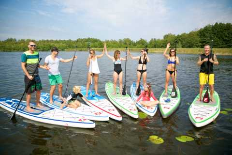 Leipzig: Stand-Up Paddleboard Class