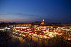 Marrakech: Excursão Medina à Noite