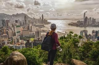 Hongkong: Private Abend-Wanderung zum Victoria Peak