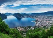 Von Mailand: Ganztagestour nach Como, Lugano und Bellagio
