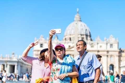 Rom: Audienz mit Papst Franziskus