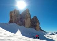 Dolomiten Schneeschuhtour: Private Exkursion in der Nähe von Cortina