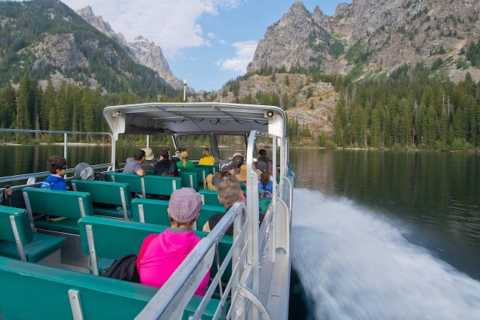 Grand Teton National Park: Full-Day Tour with Boat Ride