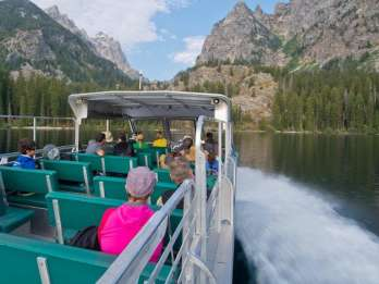 Grand Teton National Park: Ganztagestour mit Bootsfahrt