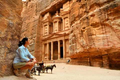 2-Day Historic Petra Tour from Tel Aviv