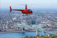 Montreal: Voo de Helicóptero de 20 ou 30 Minutos