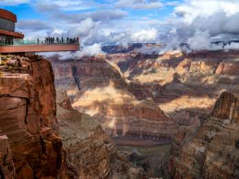 Ab Las Vegas: Bustour zum Grand Canyon West Rim