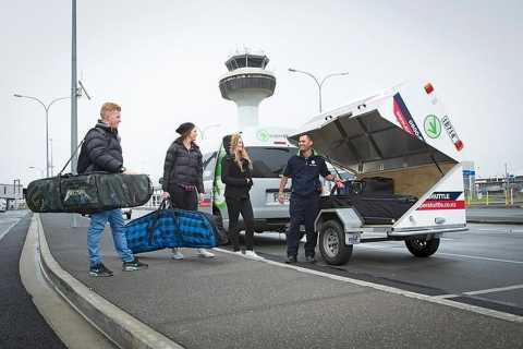 Queenstown: Geteilte Transfers zwischen Flughafen und Innenstadt