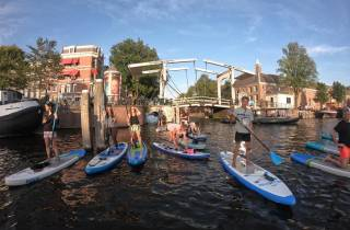 Amsterdam: 2-stündige Stand Up Paddle Board Tour