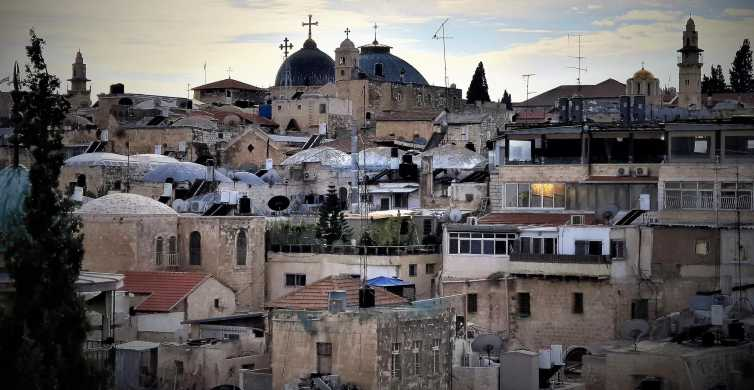 Jerusalem: World Heritage Private Tour with Hotel Pickup