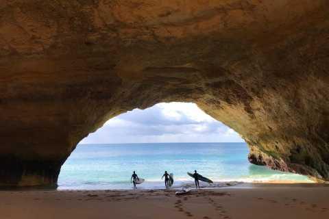 Carvoeiro: Benagil Caves Paddle-Boarding Tour