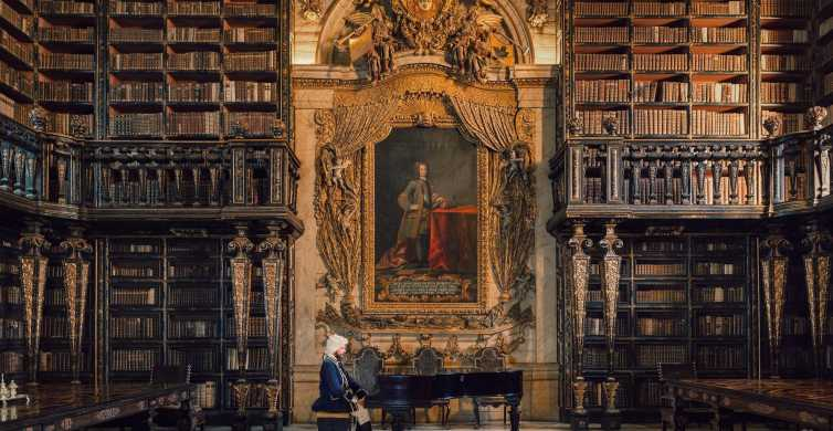 Coimbra: Walking Tour with University and Joanina Library