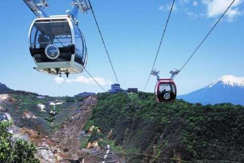 From Tokyo: Mt. Fuji, Hakone and Owakudani Tour in Italian
