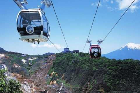 From Tokyo: Mt. Fuji, Hakone and Owakudani Tour in Spanish