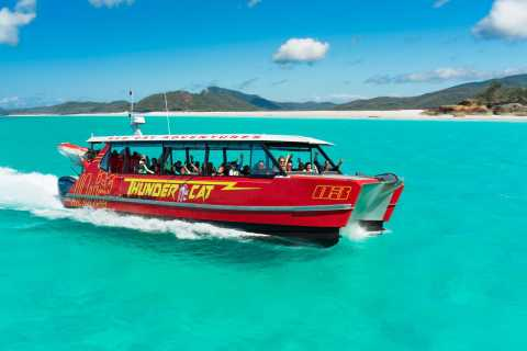 Whitehaven & Great Barrier Reef Eco-Snorkel Cruise & Lunch