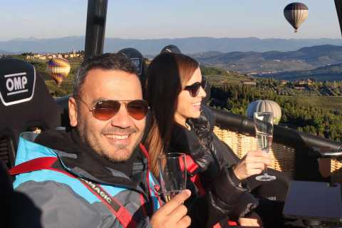 From Florence: Luxury Hot-Air Balloon Ride