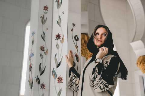 Dubaï : Grande Mosquée Sheikh Zayed avec photographe