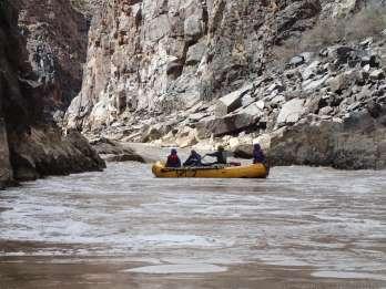 Westwater Canyon: Colorado River Klasse 3-4 Rafting von Moab