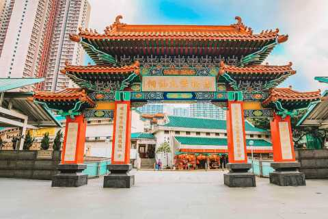 Hong Kong: Guided Tour of Wong Tai Sin Temple