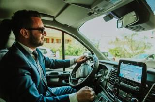 Privater Autotransfer zwischen Rom und Neapel