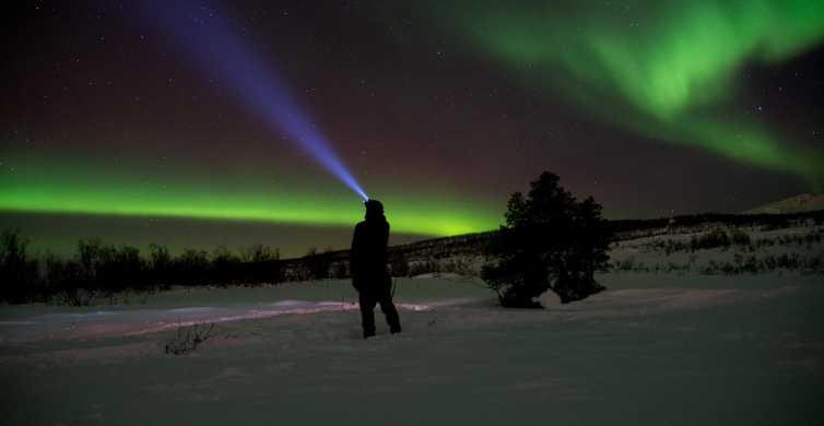 Tromsø: Snowshoe Nightwalk from Husky Camp